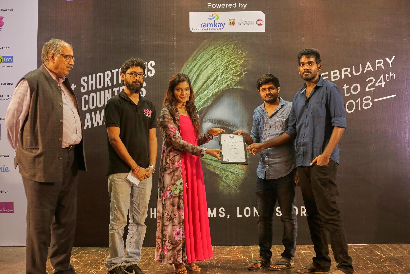5th Chennai International Short Film Festival(CISFF)