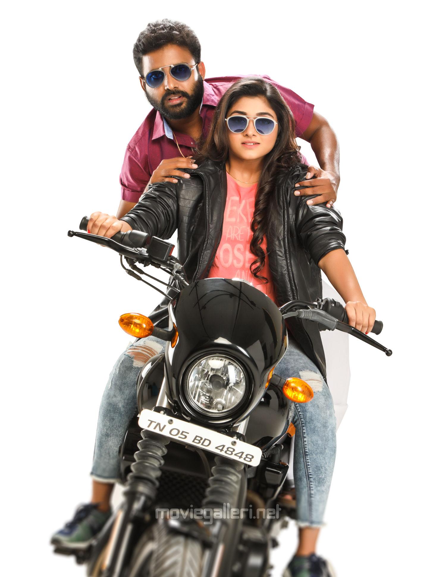 Dinesh, Aditi Menon in Kalavaani Mappillai Movie Images HD