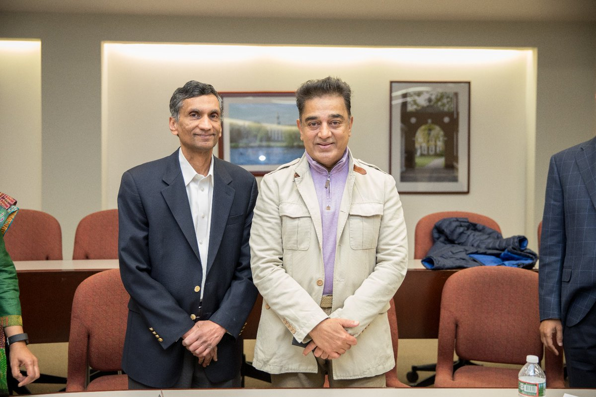 Kamal haasan thanks US Professor Kash for giving ideas for 'new TN'