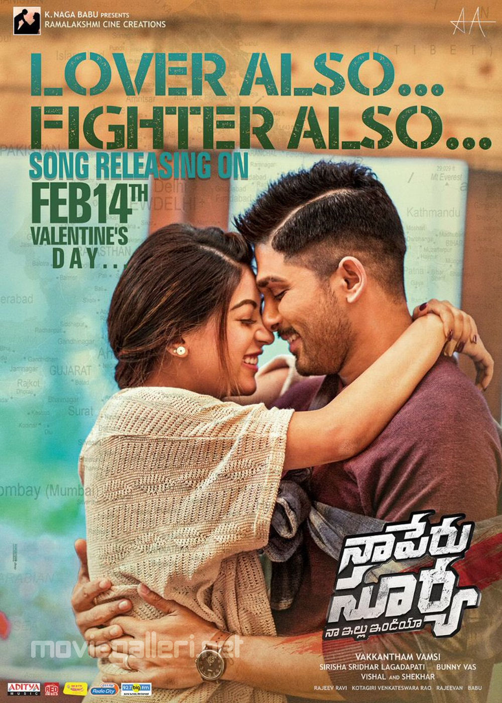 Naa Peru Surya, Naa Illu India 2nd Song LOVER ALSO FIGHTER ALSO