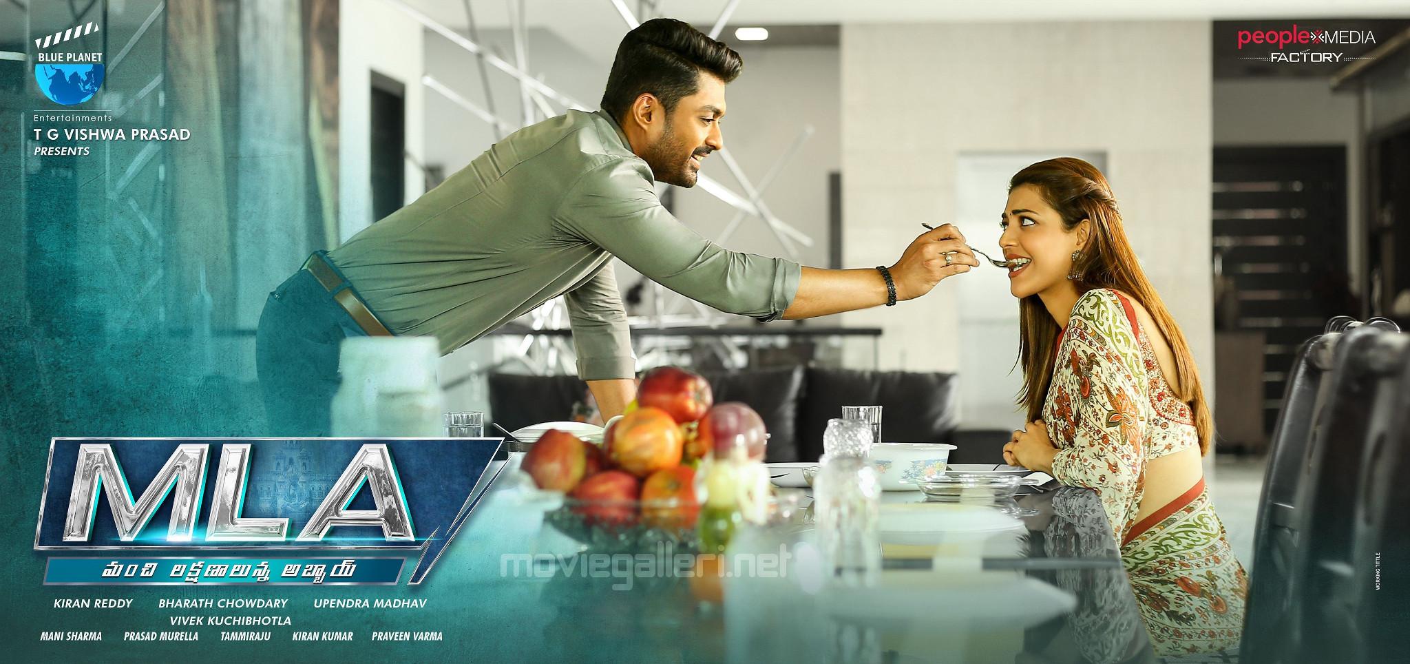 Nandamuri Kalyan Ram Kajal Aggarwal MLA Movie New Wallpaper HD