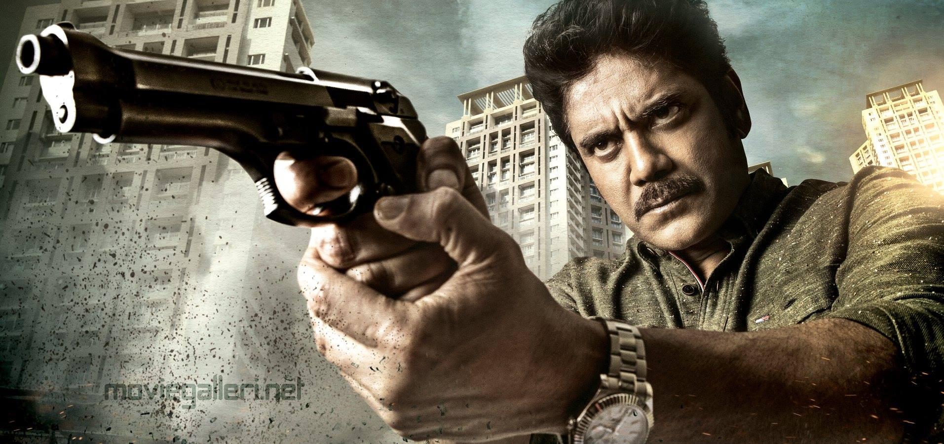 RGV Nagarjuna Officer Movie First Look HD Image