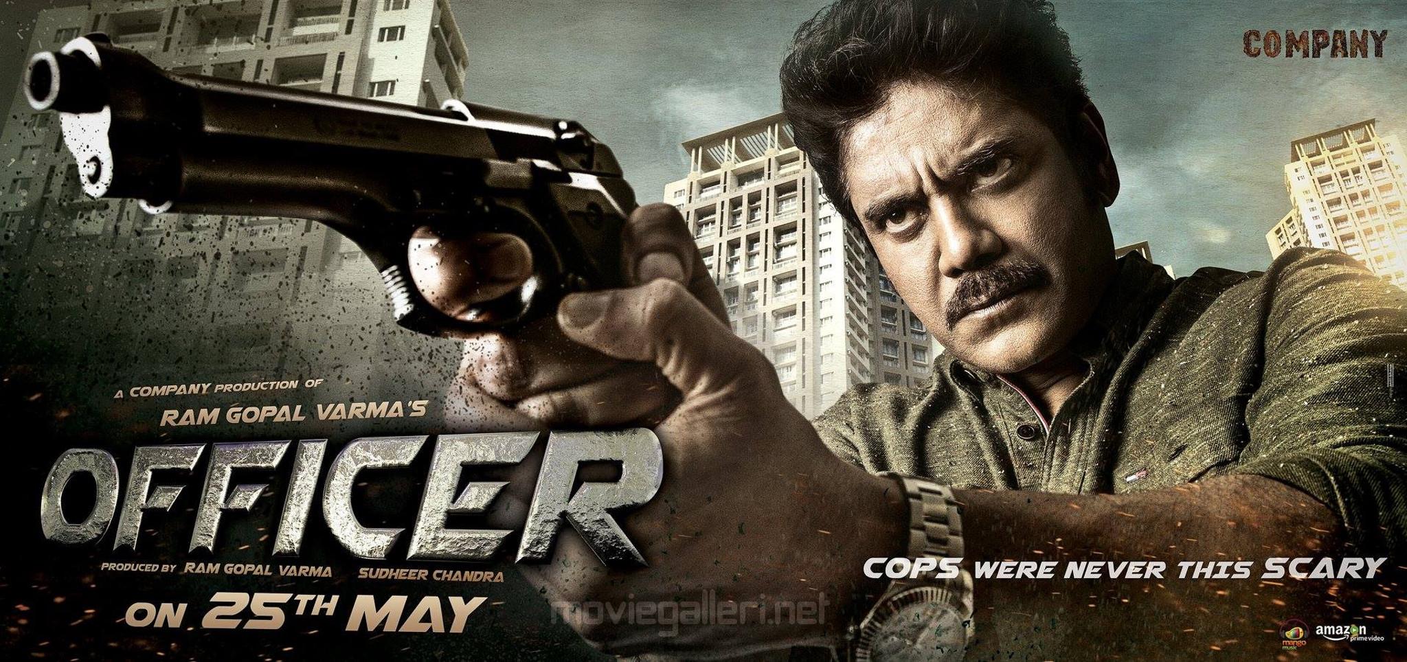 RGV Nagarjuna Officer Movie First Look Wallpaper HD