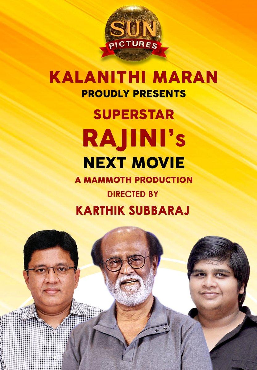 Rajinikanth's next film with Karthik Subbaraj