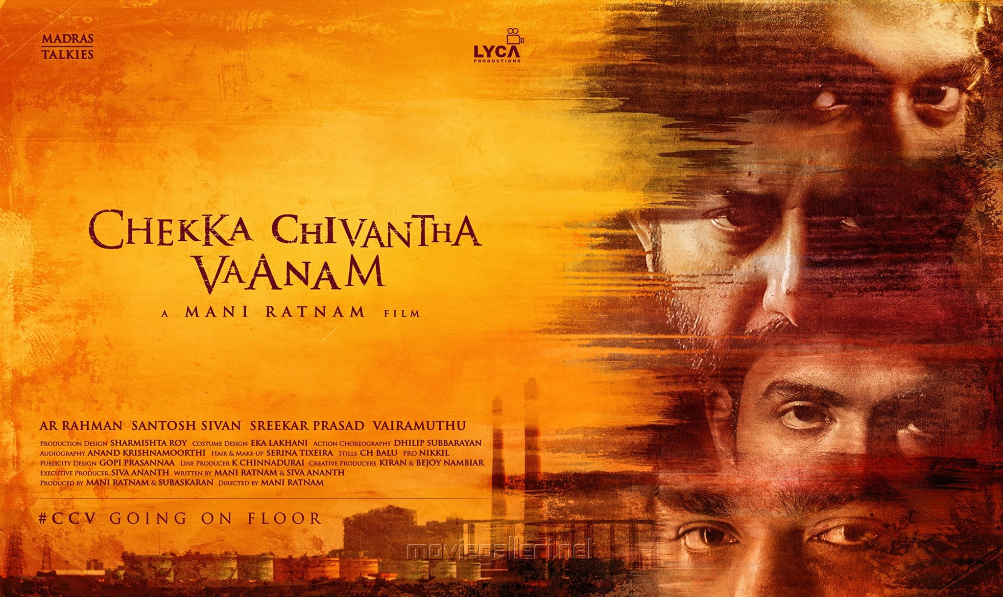 Simbu, Arvind Swami, Vijay Sethupathi, Arun Vijay in Chekka Chivantha Vaanam Movie Going on Floor 12th February
