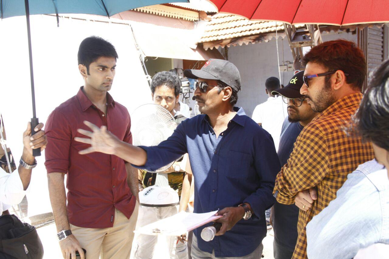 'Atharva's Boomerang' shooting moving at a rapid pace