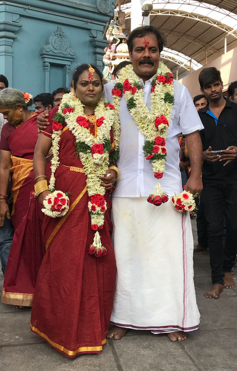 Actor Munishkanth Ramdoss Thenmozhi Marriage Photos