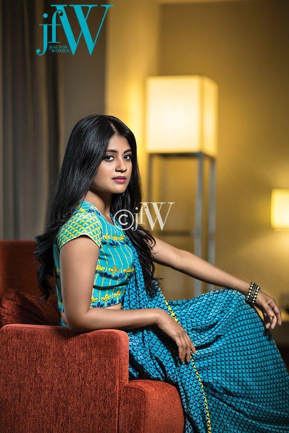 Actress Aditi Balan JFW Magazine Photoshoot Stills