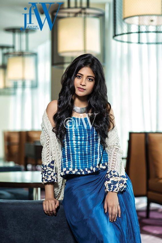 Actress Aditi Balan Photoshoot for JFW Magazine