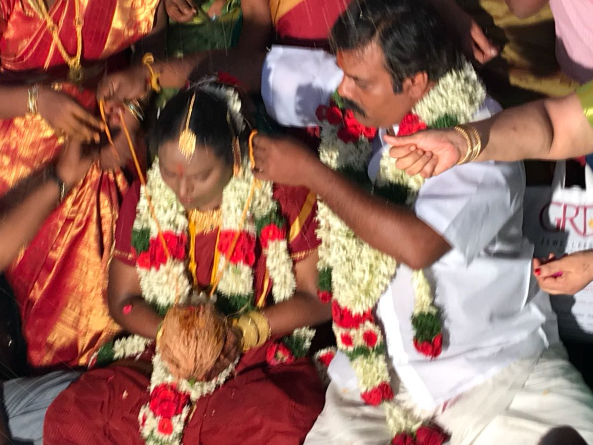 Munishkanth Ramdoss Thenmozhi Marriage Photos
