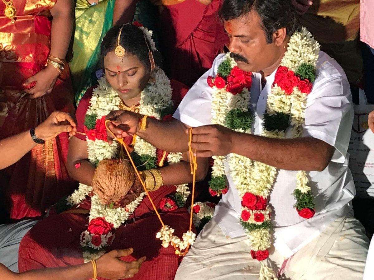 Muniskanth Ramdoss Thenmozhi Marriage Photos