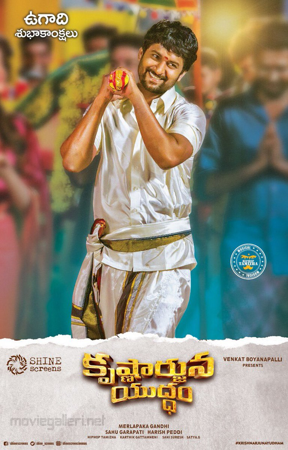 Nani Krishnarjuna Yuddham Movie Ugadi Wishes Poster