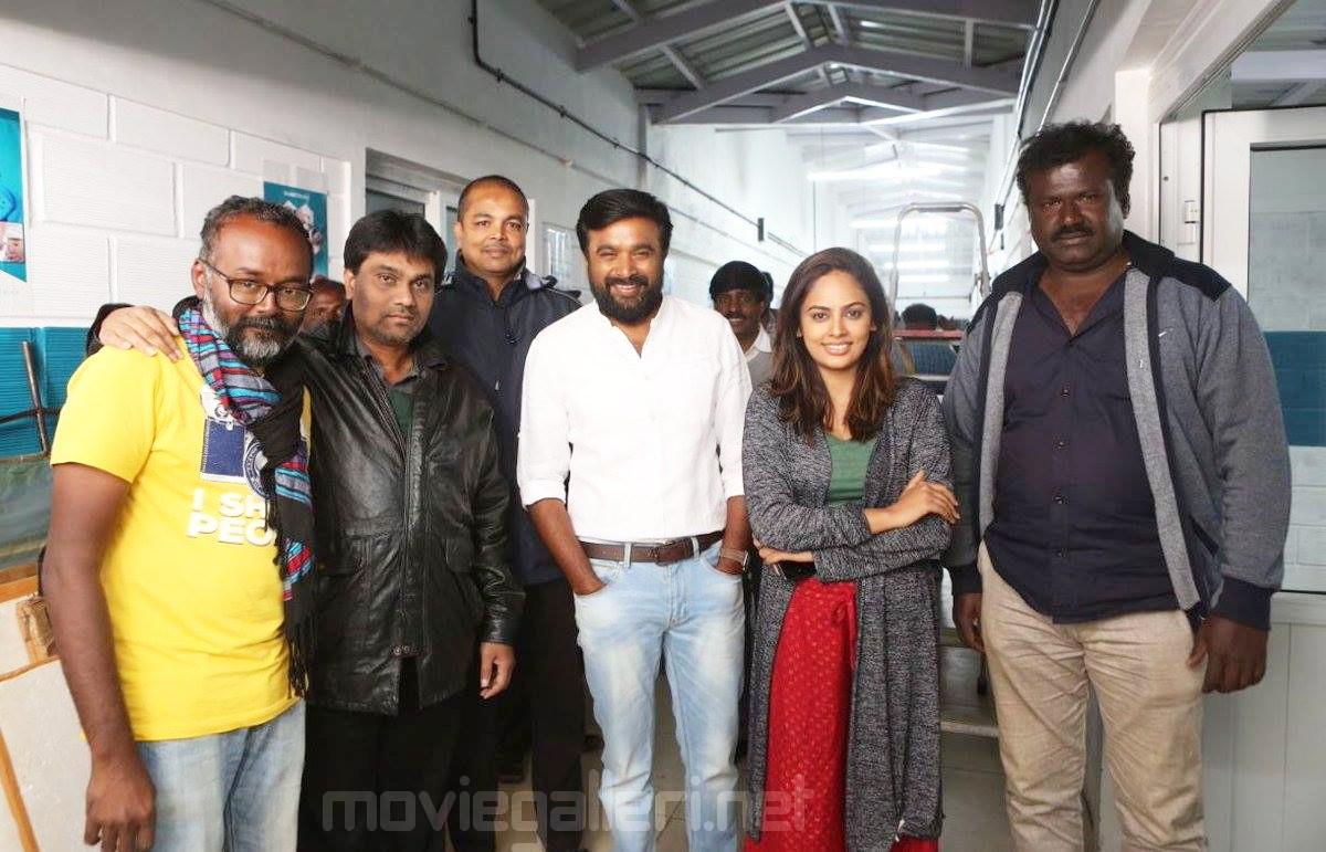 SR Kathir Sasikumar Nandita Swetha Asuravadham Movie Shooting Spot