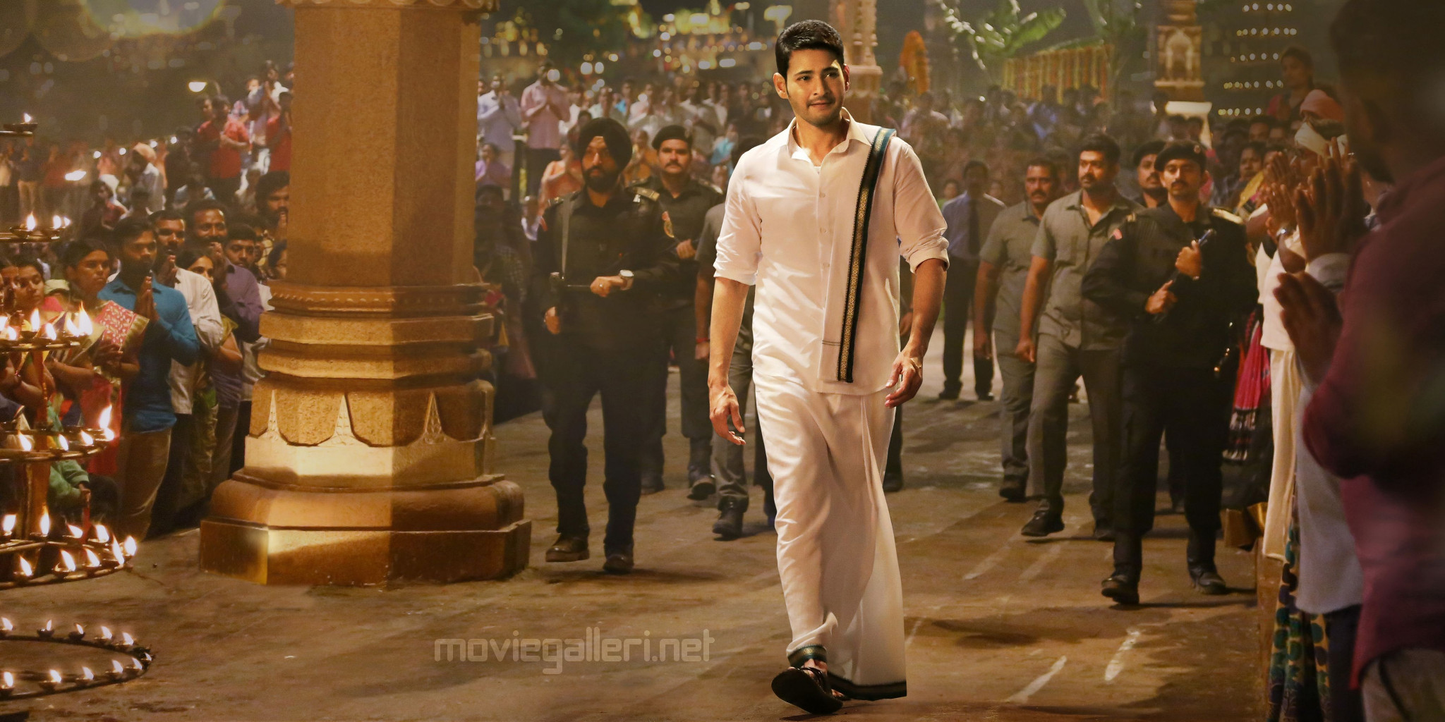 Superstar Mahesh Babu Pancha Pattu Still HD from Bharat Ane Nenu Movie
