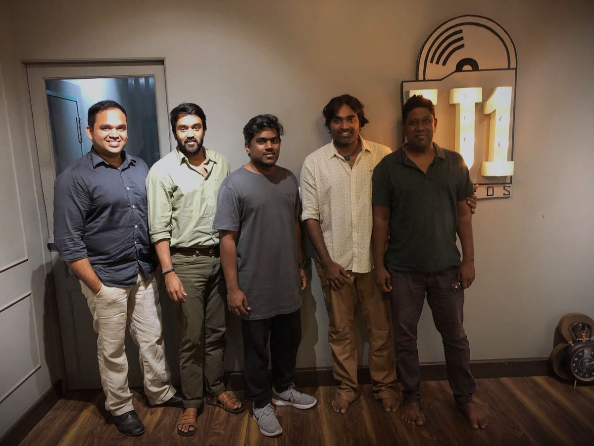 Vijay Sethupathi croons for Yuvan Shankar Raja PeiPasi movie