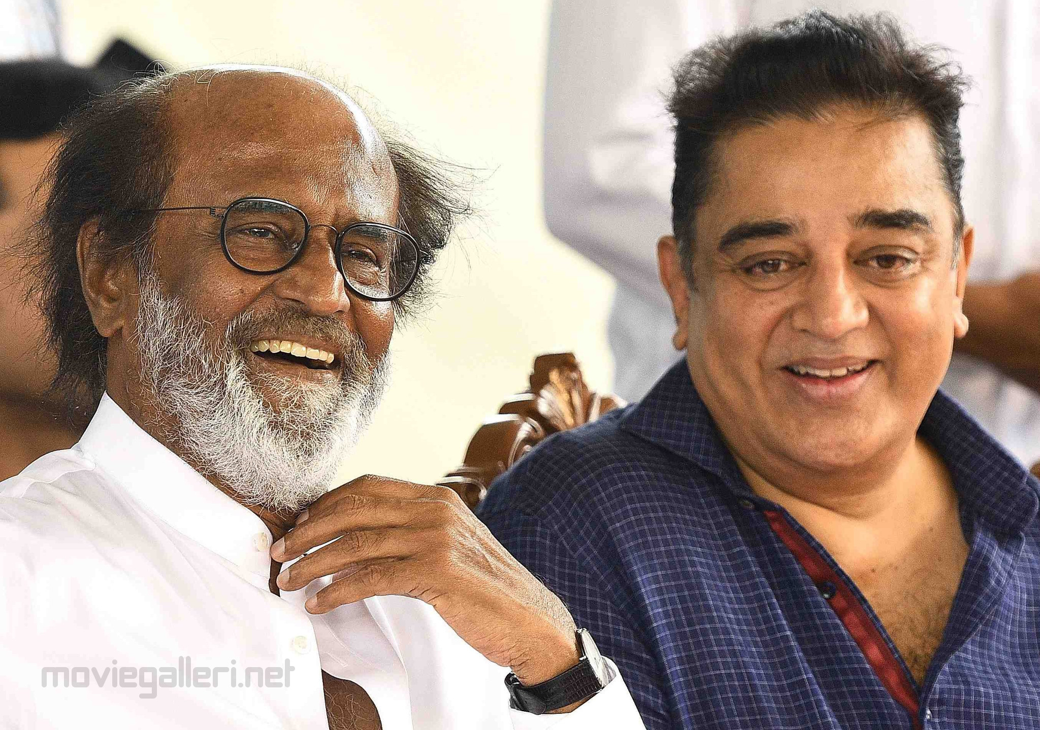 What is Rajini and Kamal's stand in Cauvery issue