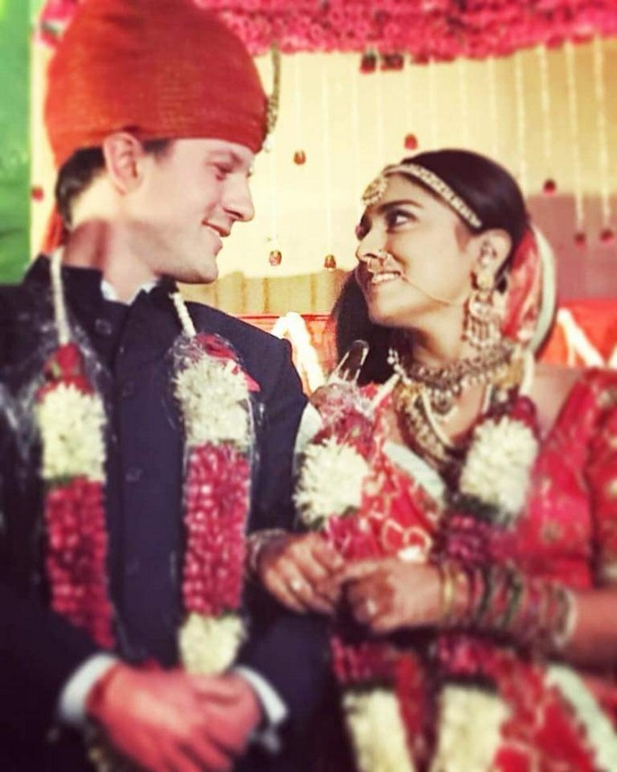 Actress Shriya Saran Marriage Photos