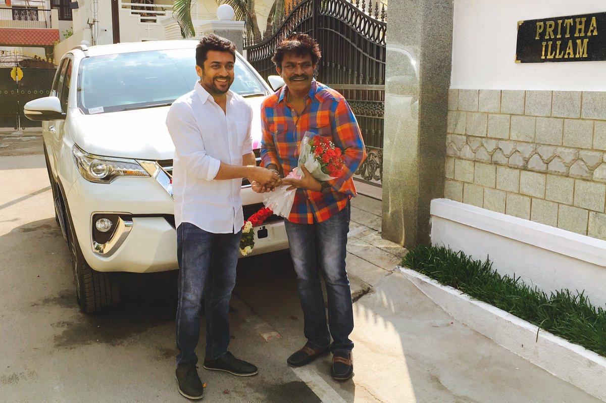 Actor Suriya to pair with Director Hari again