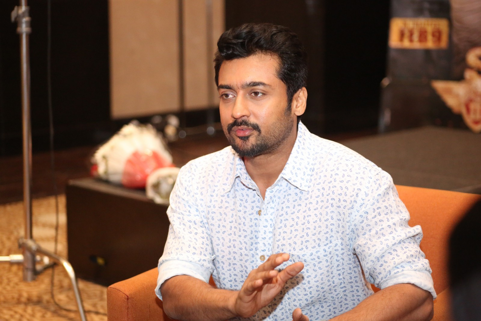 KV Anand Suriya movie song composition started in London