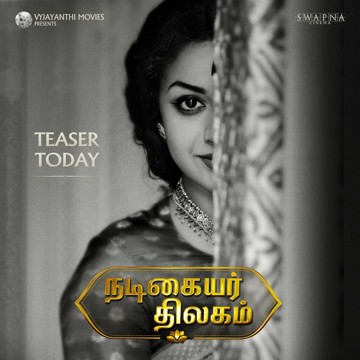 Keerthy Suresh Savitri Biopic Nadigaiyar Thilagam Teaser Today