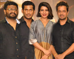 Abhimanyudu Movie Press Meet