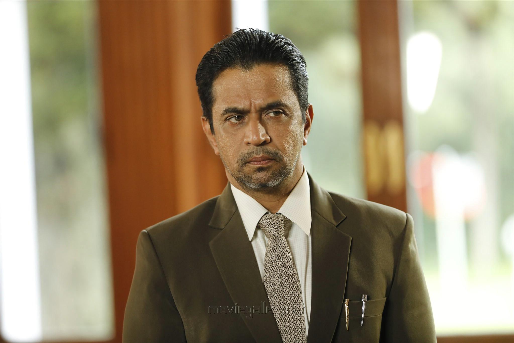Actor Arjun in En Peyar Surya Movie Review