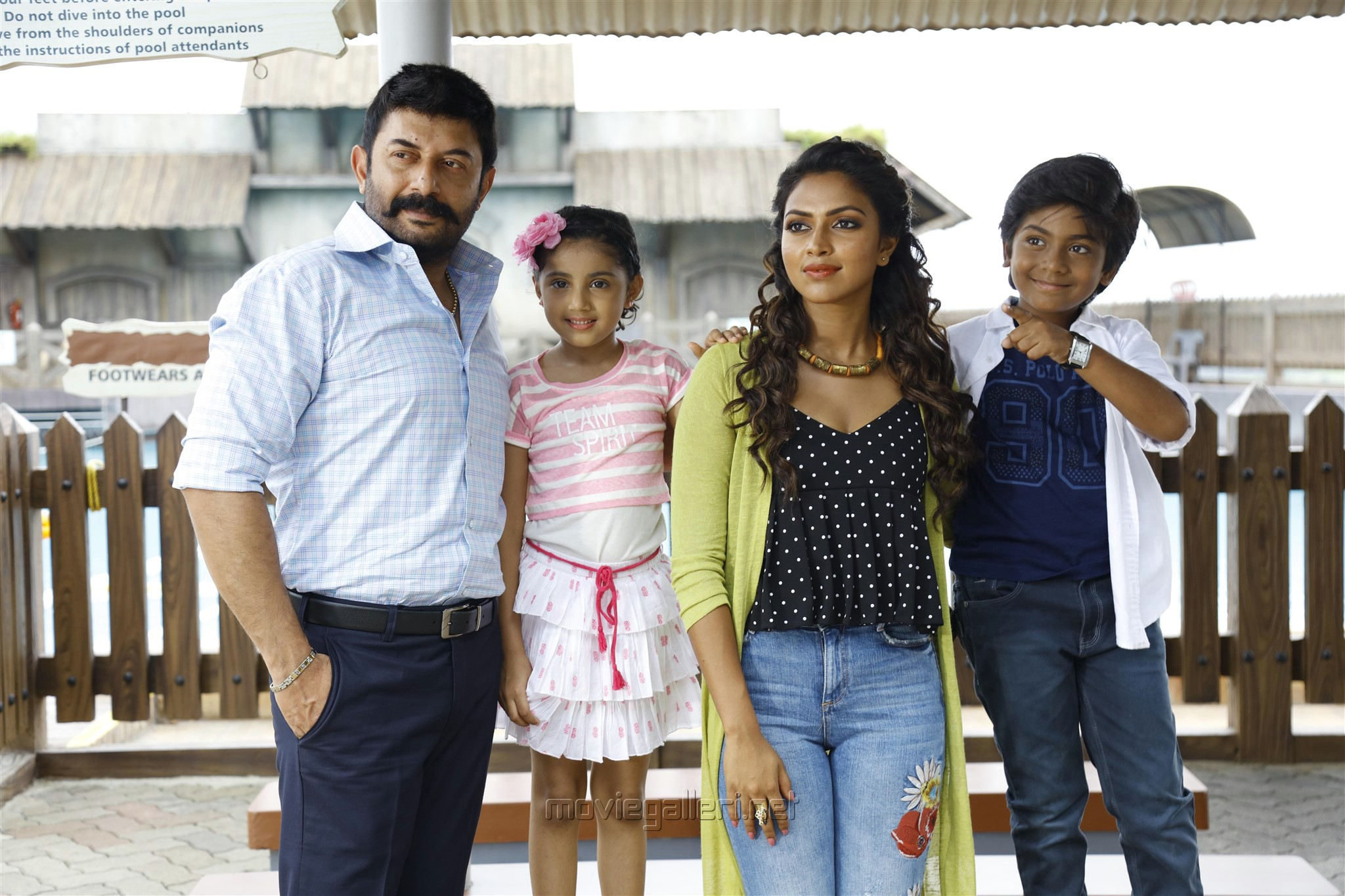 Arvind Swamy, Baby Nainika, Amala Paul, Master Raghavan in Bhaskar Oru Rascal Movie Review