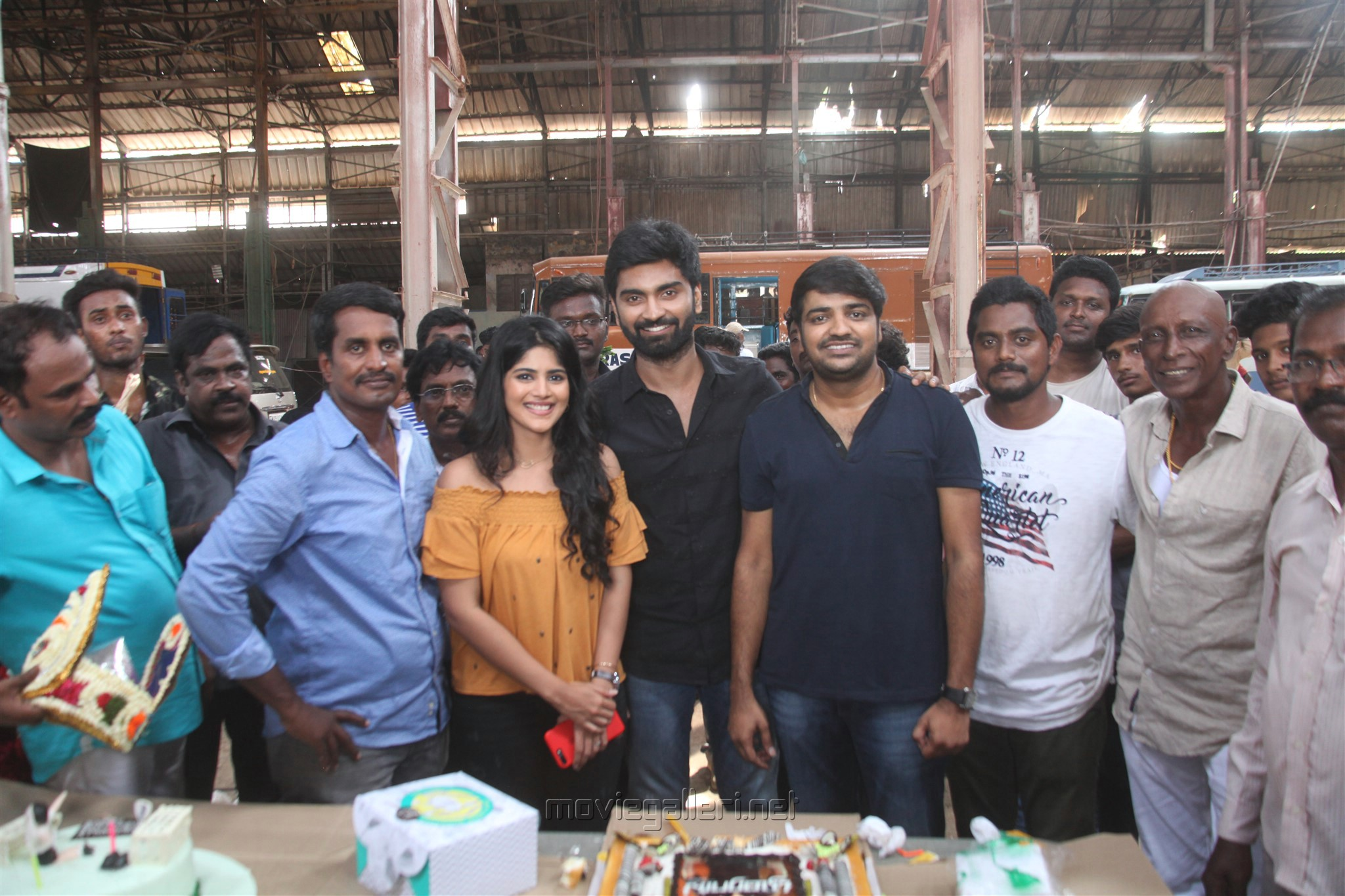 Atharva birthday celebrations @ Boomerang Movie Sets