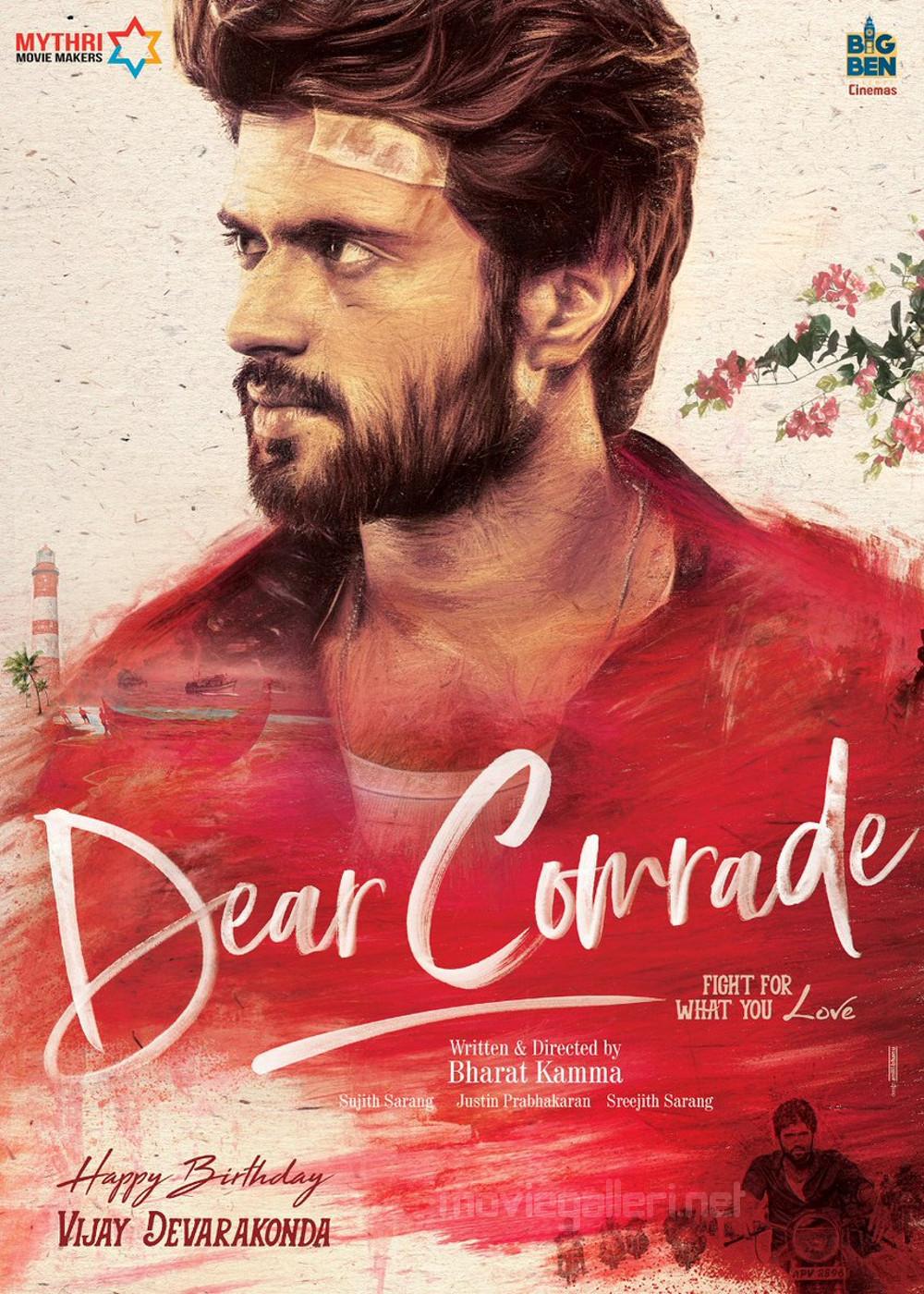 Dear Comrade Vijay Devarakonda Birthday Wishes Poster