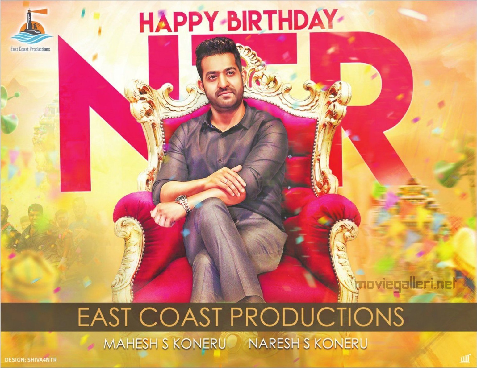 East Coast Productions NTR Birthday Wishes Poster HD