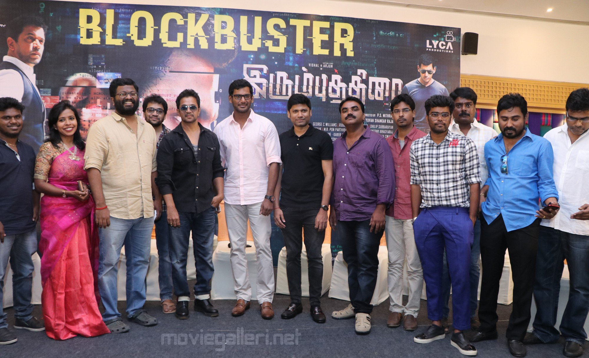 Irumbu Thirai Movie Thanks Giving Success Meet Stills