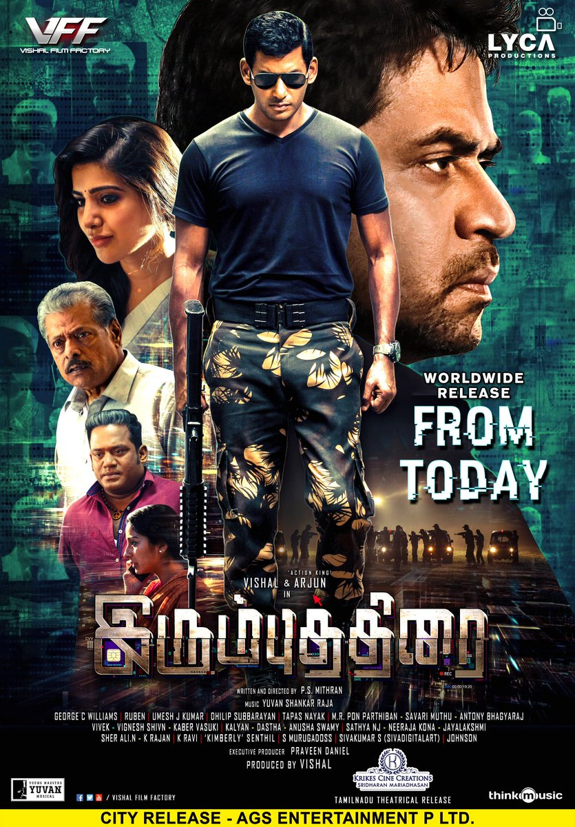 Irumbu Thirai Review Vishal Arjun Samantha
