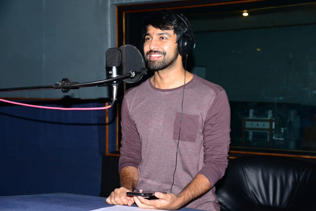 Kalyaan Dhev's Debut Film Dubbing Works Begin