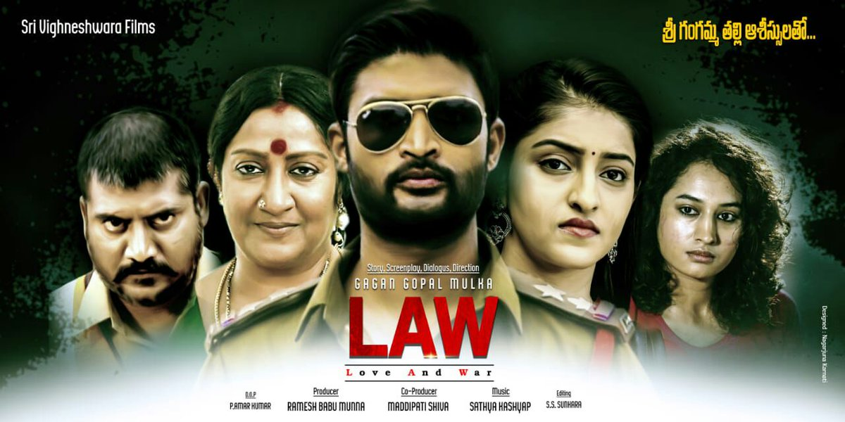 LAW Love And War Movie First Look Posters