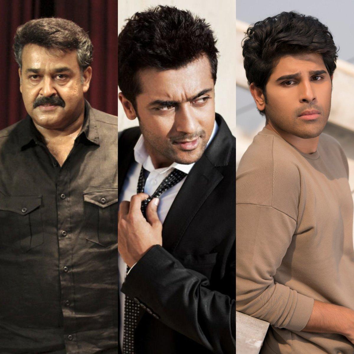 Mohanlal Suriya Allu Sirish in KV Anand Film