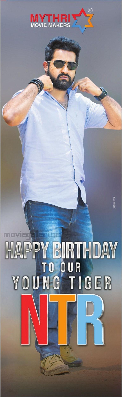 Mythri Movie Makers NTR Birthday Wishes Poster
