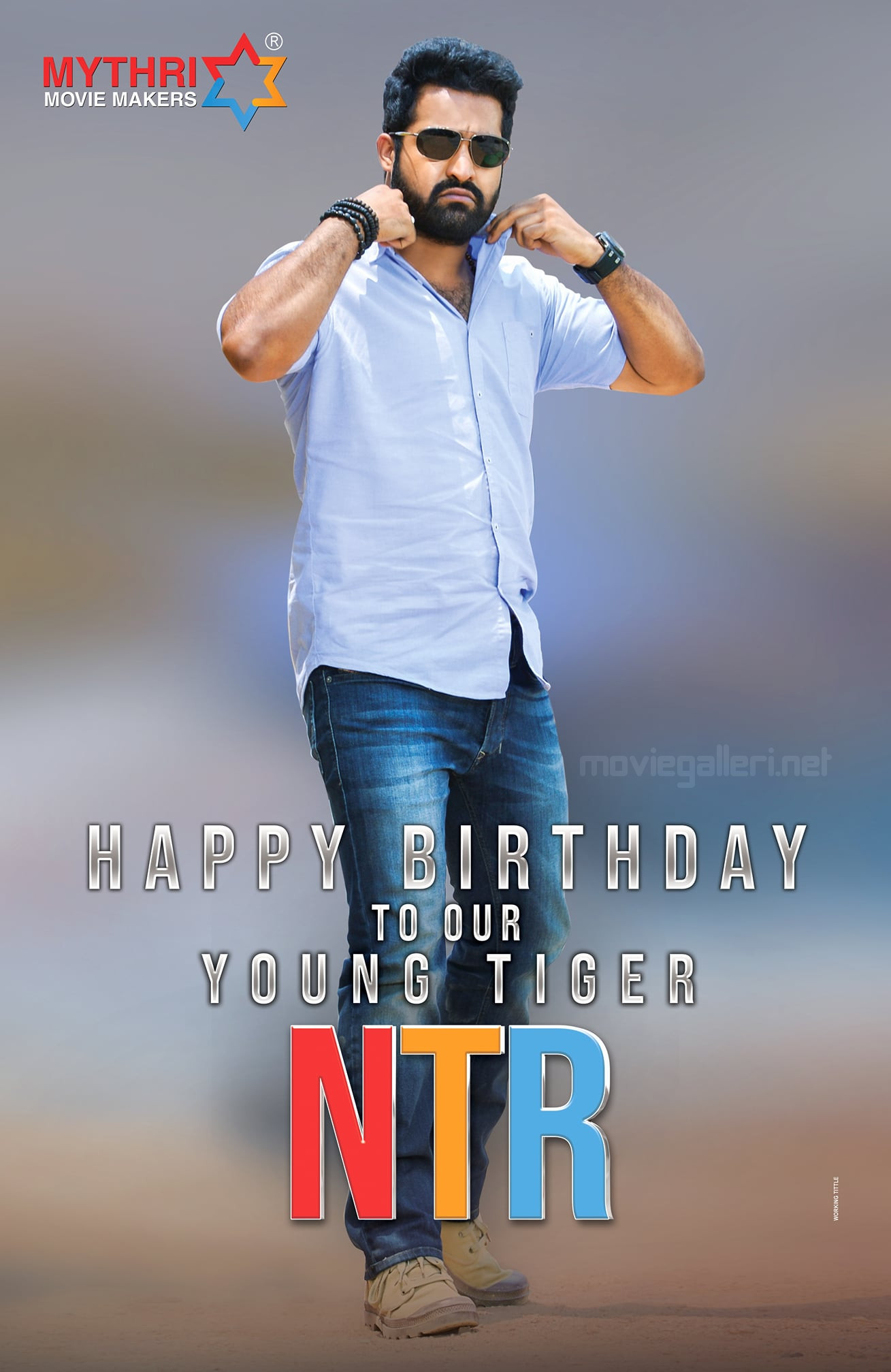 Mythri Movie Makers Wishes NTR Birthday Poster HD
