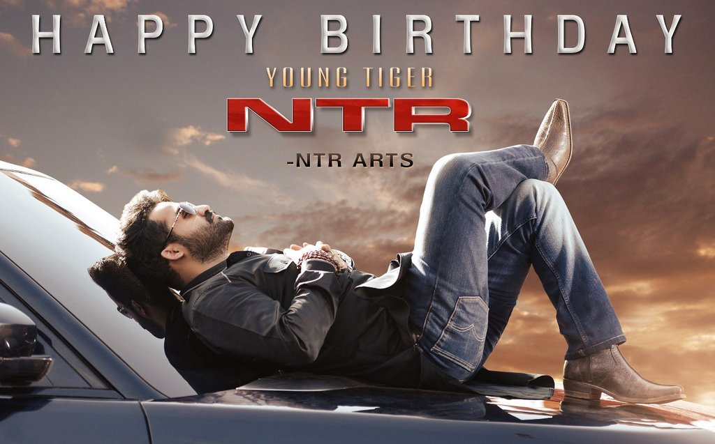 NTR Arts Wishes NTR Birthday Poster
