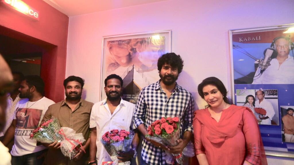 Sivakarthikeyan begins dubbing for Seema Raja