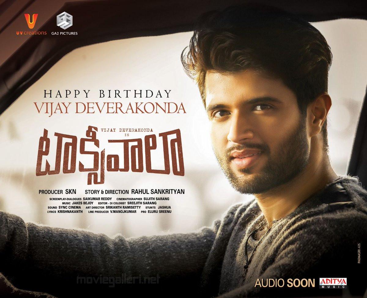 Taxiwala Vijay Devarakonda Birthday Wishes Poster