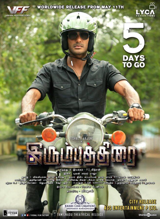 Vishal Irumbuthirai 5 Days To Go Posters
