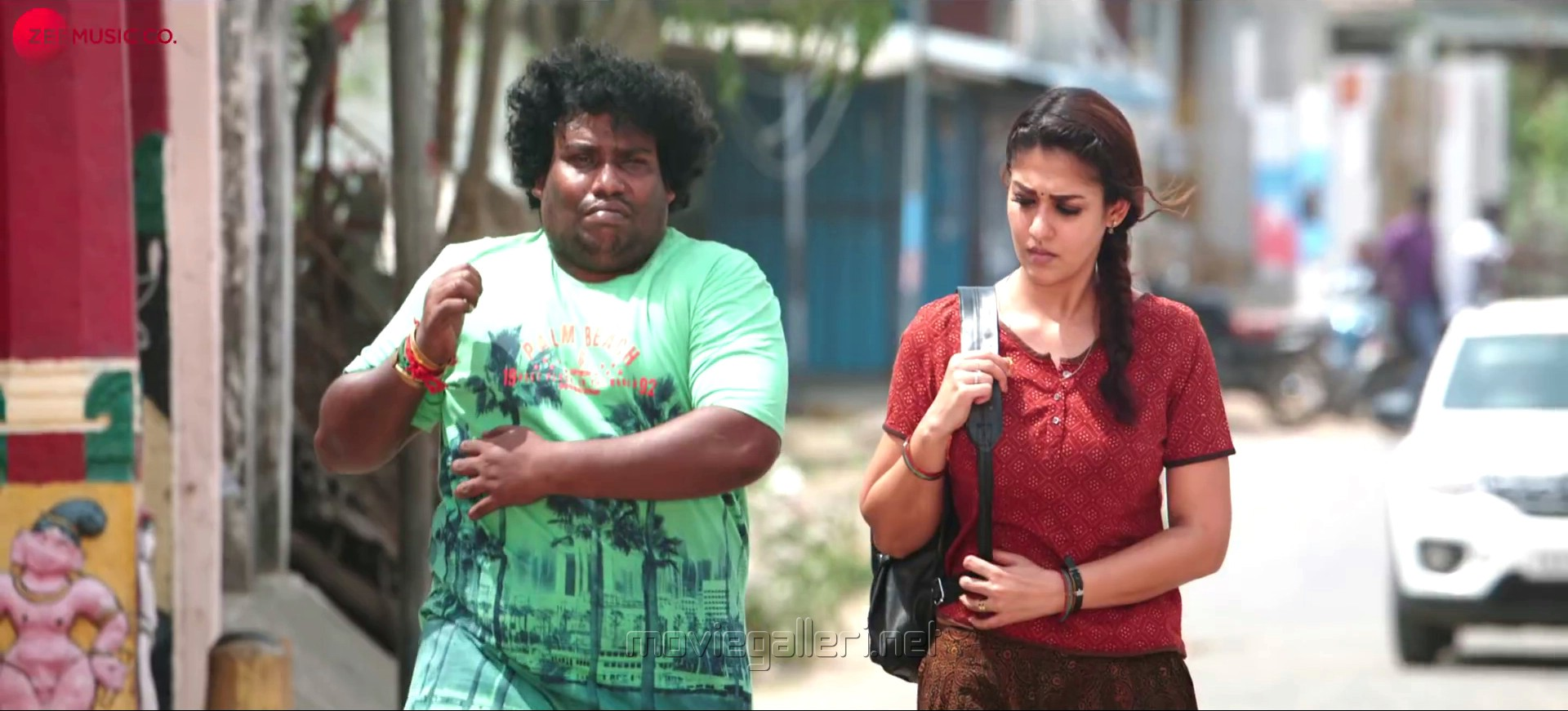 Yogi Babu, Nayanthara in COCO Movie Photos HD