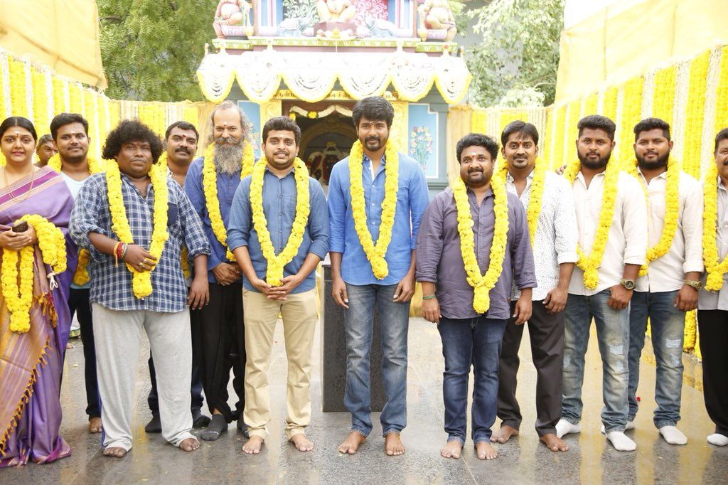 Sivakarthikeyan begins his next project SK14