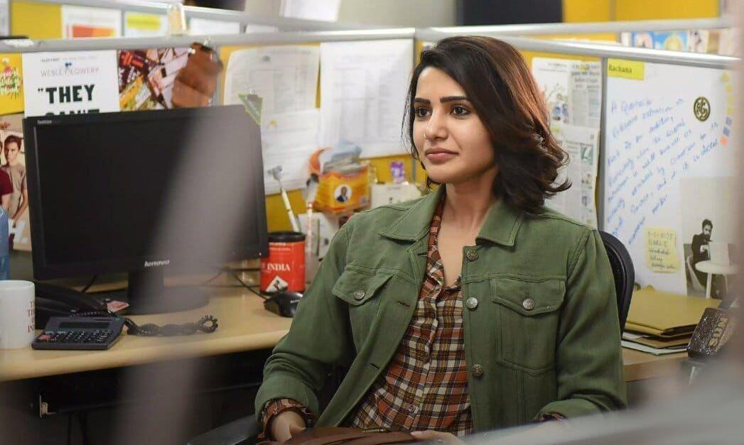 Actress Samantha 'U Turn' shooting in a massive police station set