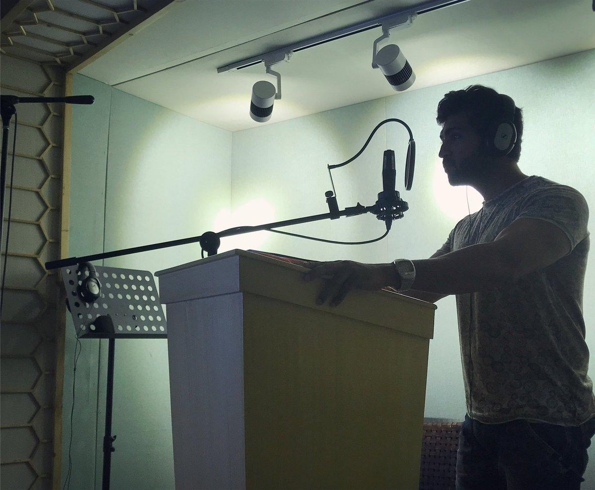 Arun Vijay dubbing for Chekka Chivantha Vaanam