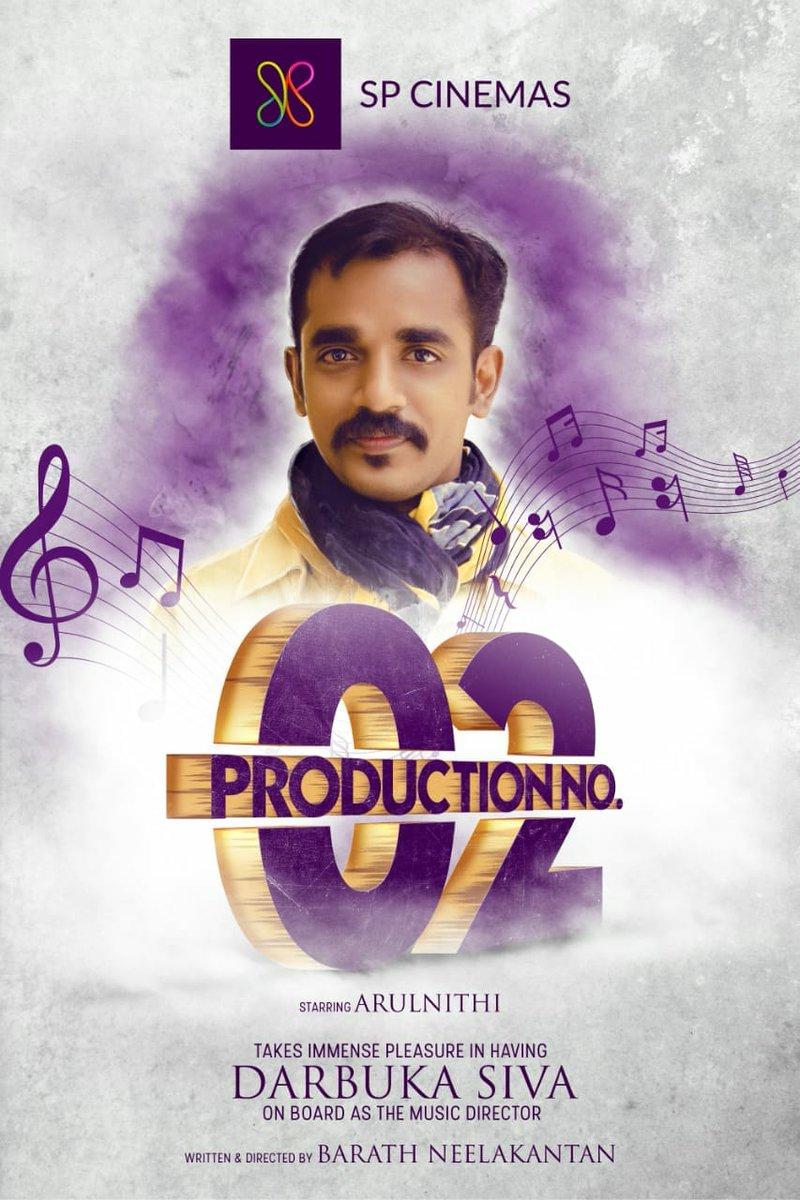 Darbuka Siva joins SP Cinemas Production No 2 Team