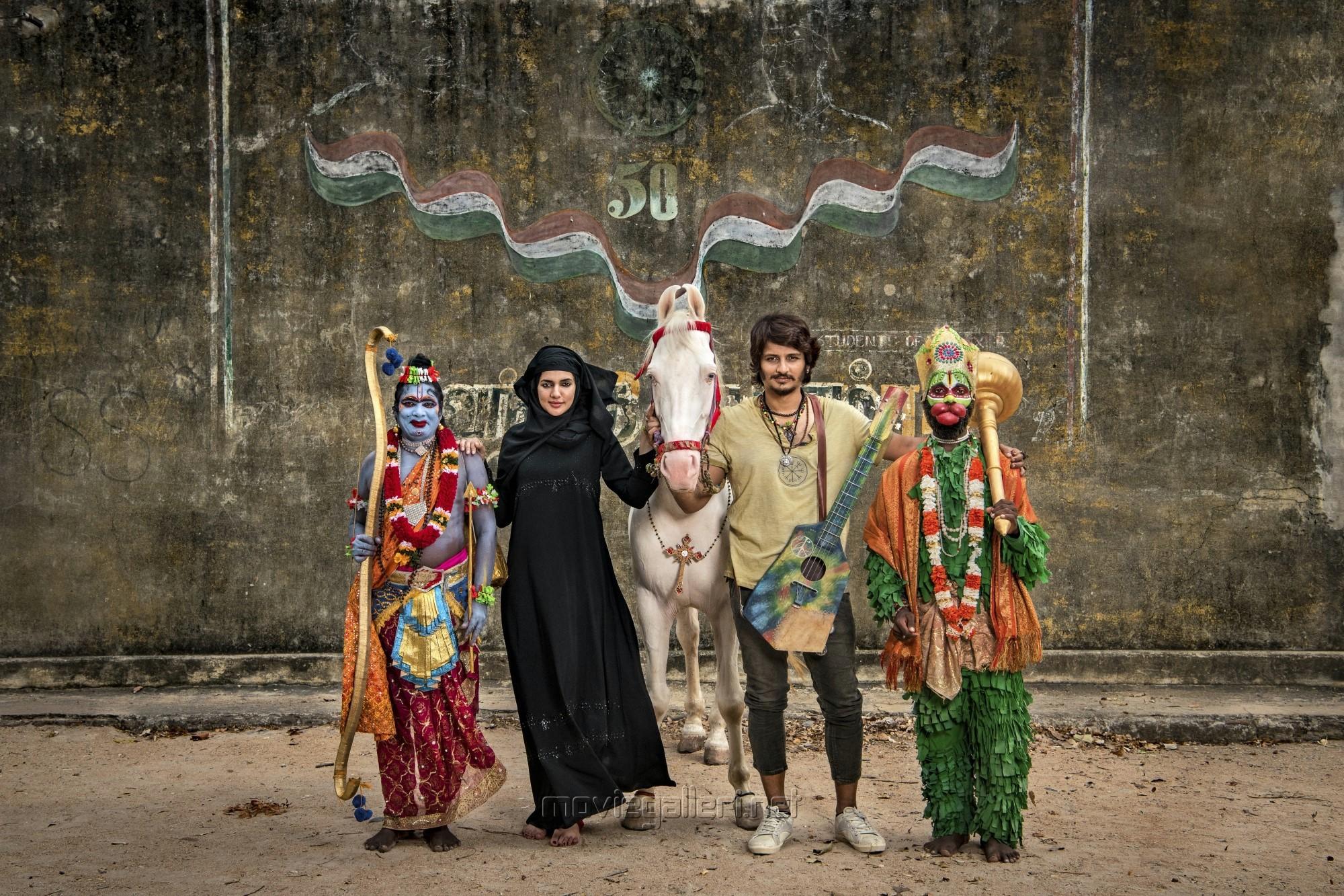 Natasha Singh Jiiva Gypsy Movie First Look Pics HD