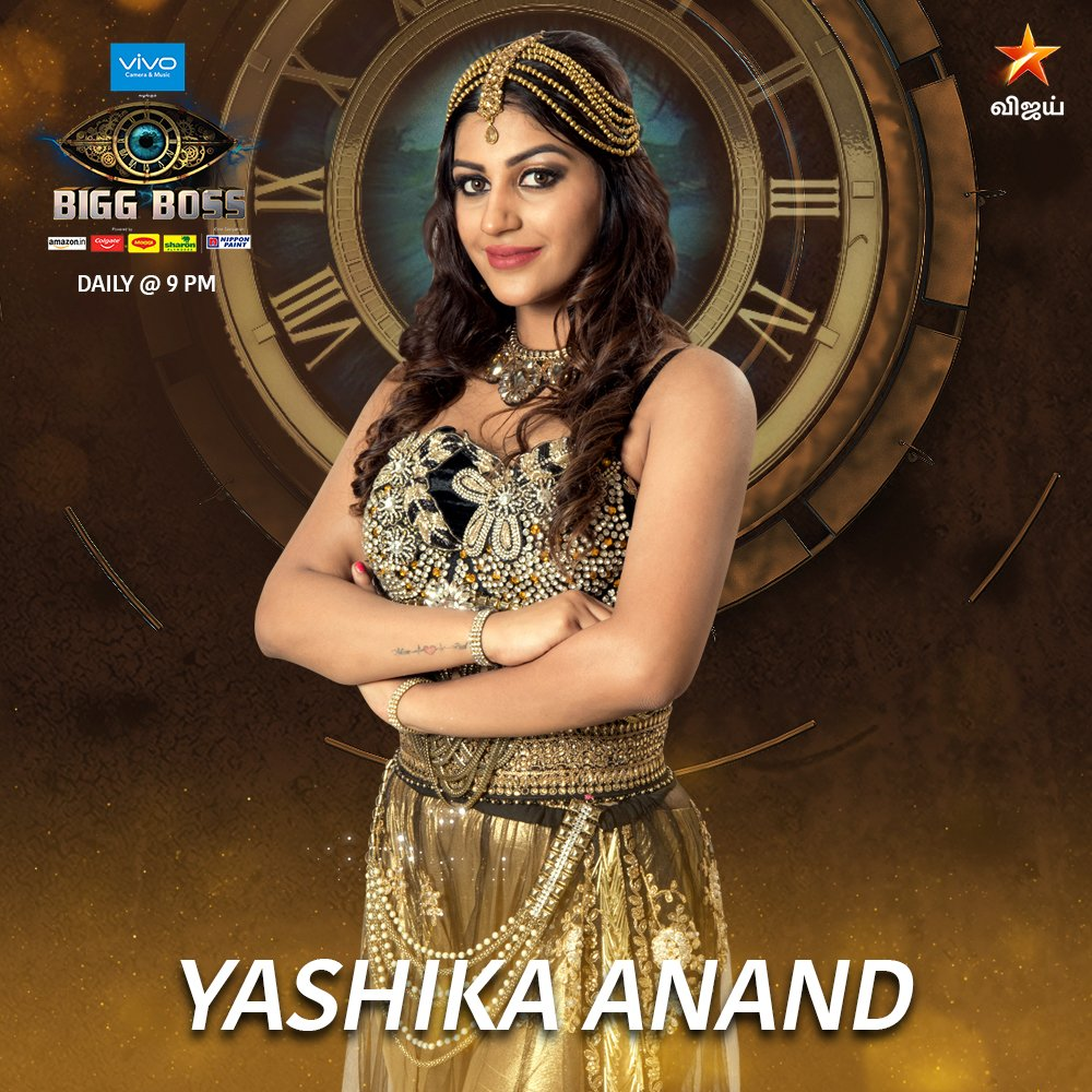 Yaashika Anand is No 1 Contestant at Bigg Boss 2