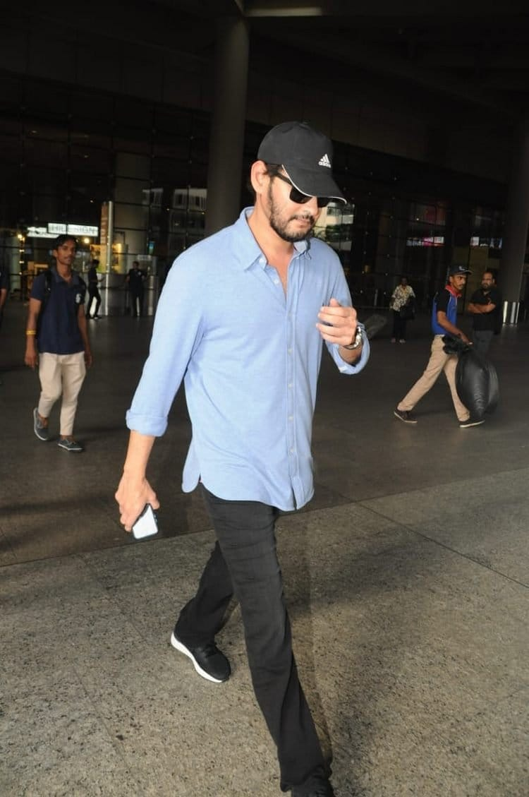 actor mahesh babu new look with beard pics