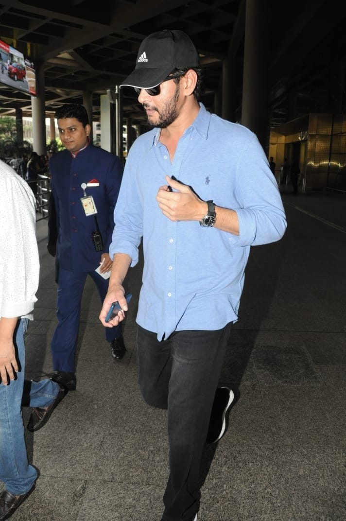 mahesh babu new beard look pics